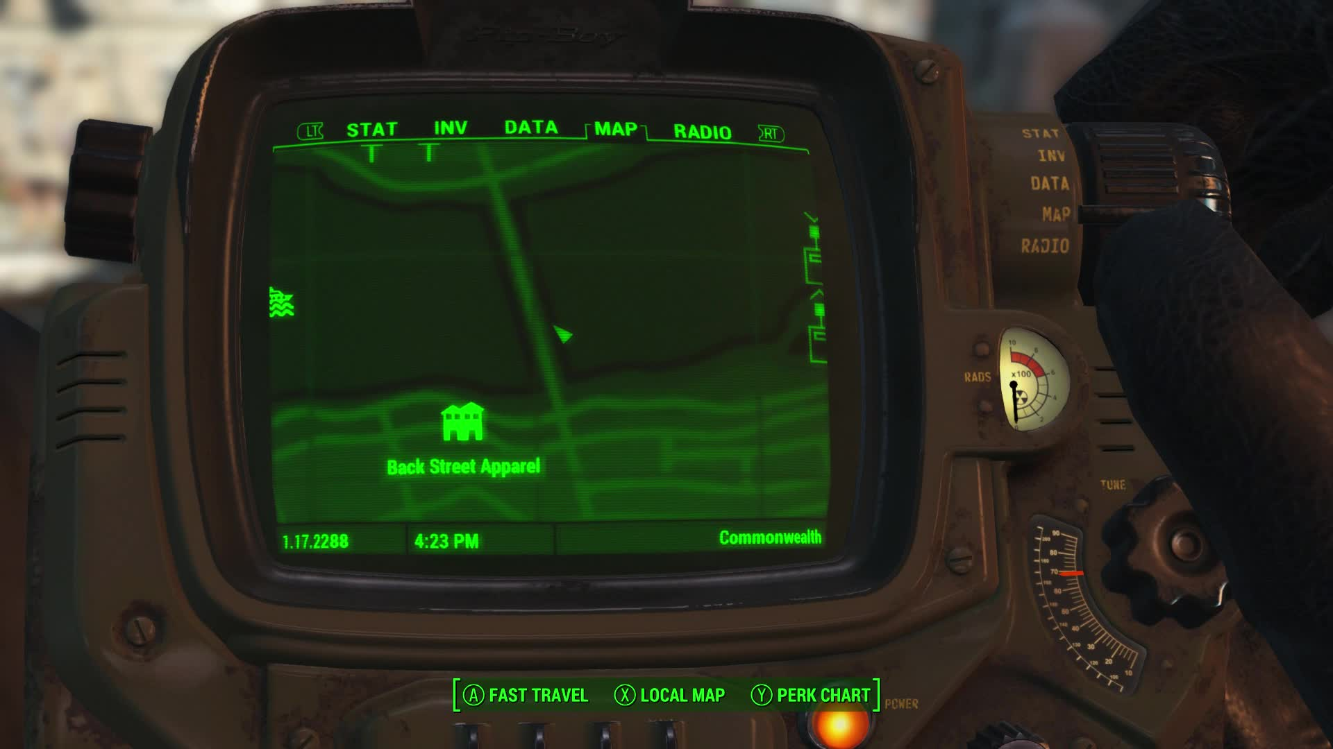 Fallout 4s user interface is truly terrible the map oh man advertisement fallout 4 gumiabroncs Images
