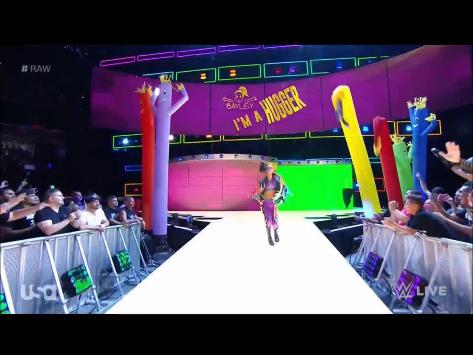 Watch Bayley Make Her Full-Time Main Roster Debut On WWE Raw