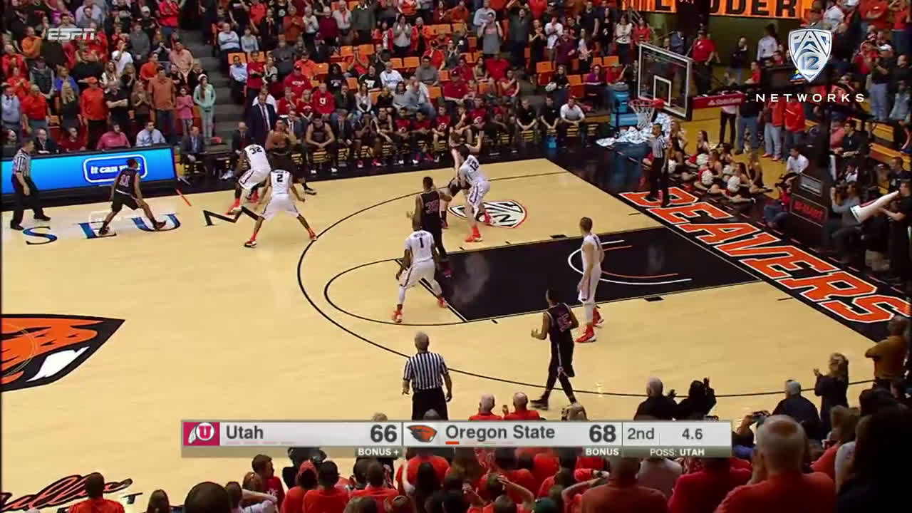Oregon State-Utah had the dumbest ending of the college basketball season