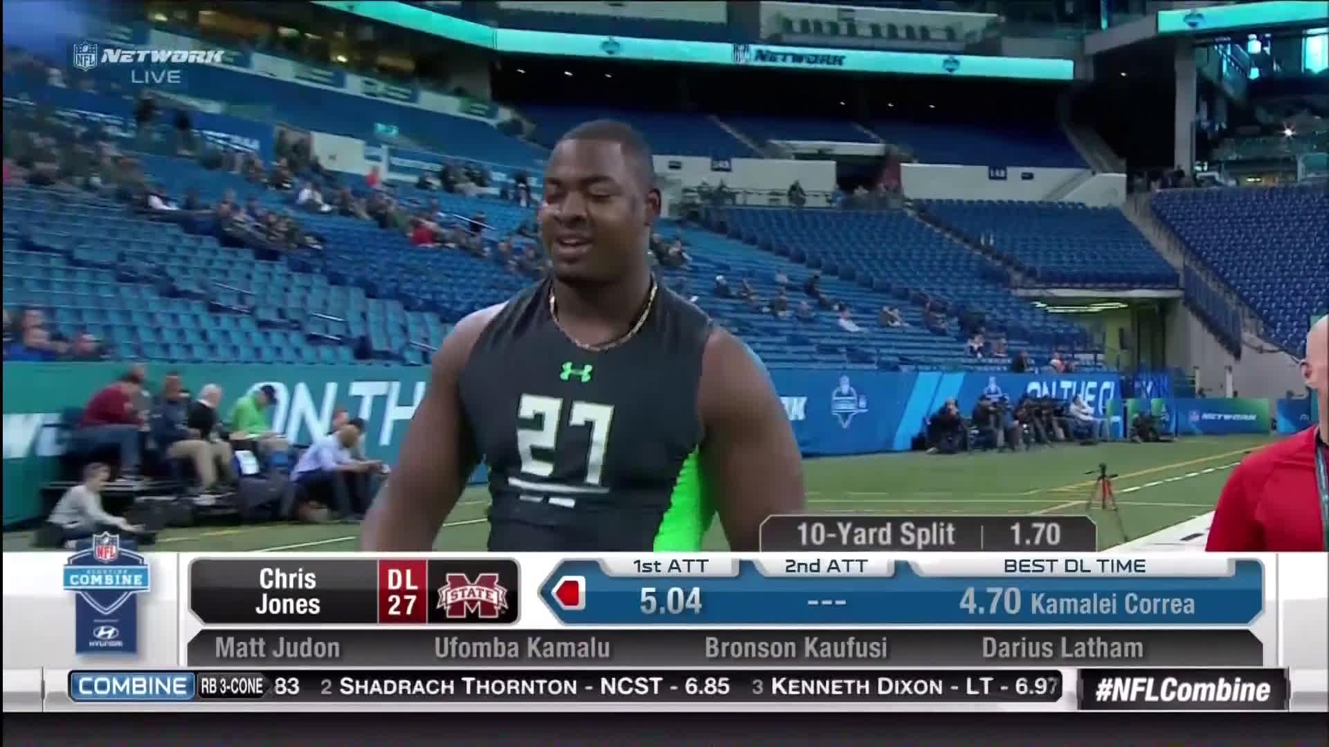 VIDEO  NFL Combine Had Its Inevitable Wardrobe Malfunction  NSFW ... 7a6bdd999